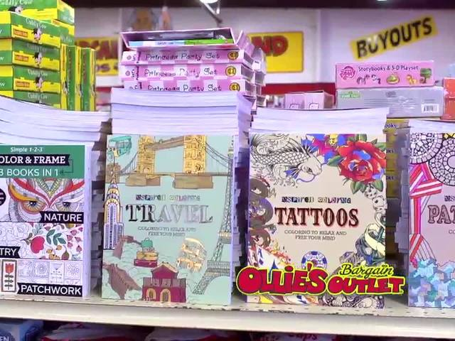 Ollie's Deals: Adult coloring books