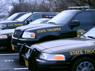 Maryland troopers get ready for Thanksgiving