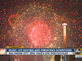 City of Baltimore prepares to ring in New Year