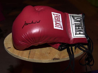 Boxer's uncle charged after opponent hit in ring