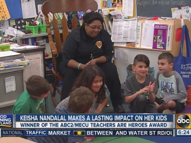 Teachers Are Heroes Keisha Nandalal