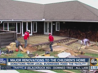 The Children's Home in Catonsville gets makeover
