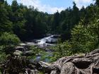 4 waterfalls and 300yo hemlocks at Swallow Falls