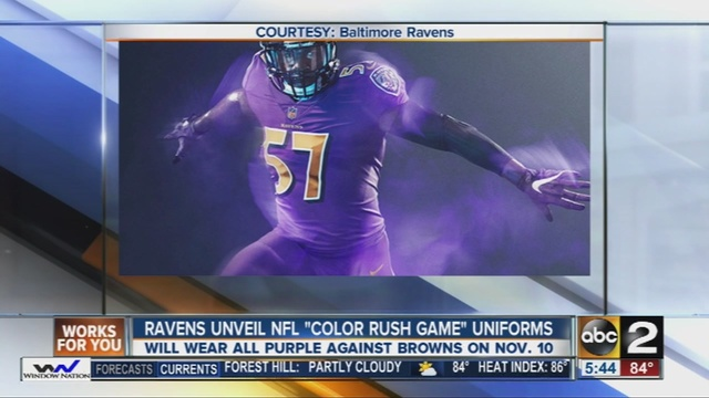 color rush jersey ravens