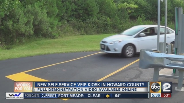 Md Emissions Stations >> MVA Opens New Self-Service VEIP Kiosk in Howard County - WMAR2NEWS