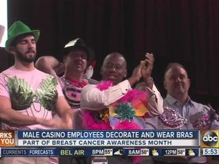 Horseshoe Casino hosts battle of the bras