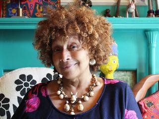 Artist Joyce Scott makes commentary in beadwork