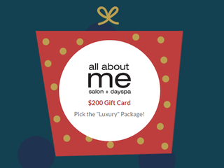 Happy Holiday Giveaways All About Me Salon & Spa