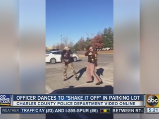 Charles Co. officer shimmies to 'Shake it Off'