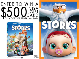 Storks DVD Sweepstakes