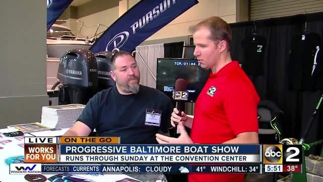 Progressive Baltimore Boat Show runs through the weekend