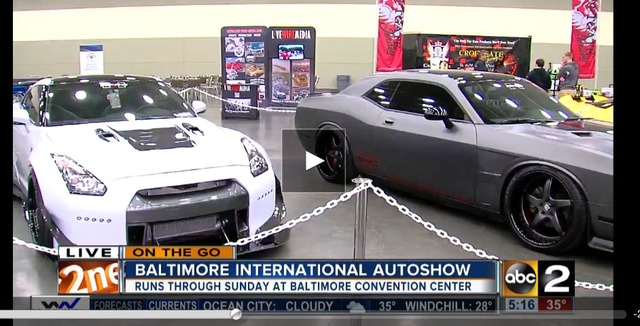 Baltimore International Autoshow held this weekend