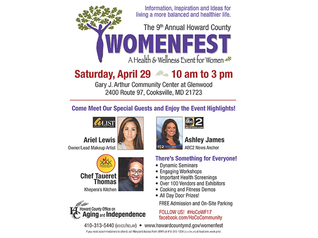 WomenFest coming to Howard County