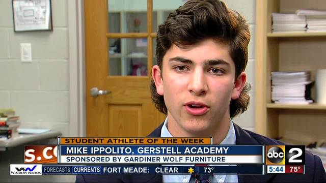 Student Athlete Of The Week: Mike Ippolito