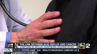 The link between cancer and acid reflux