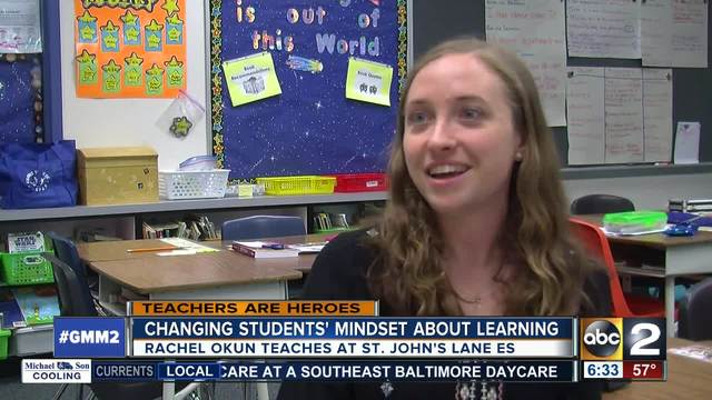 Rachel Okun is changing mindsets at St- John-s Lane Elementary School