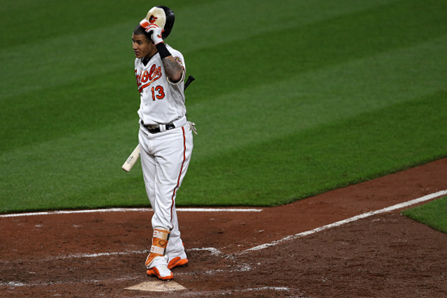 Orioles' Manny Machado moves to shortstop on his way toward free agency