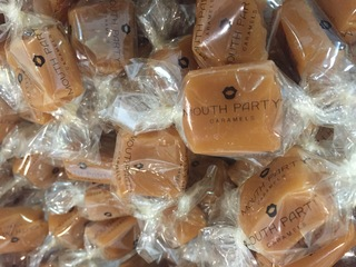 Mouth Party delivers caramels with a good cause