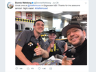 Donnie Wahlberg leaves $500 tip at Waffle House