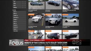 Website of fake Dundalk auto dealer shut down