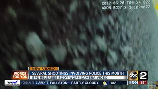 BPD releases body camera video of 3 shootings