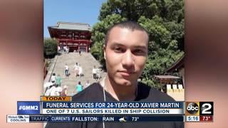 Funeral in Randallstown for Xavier Martin