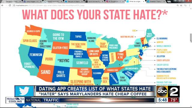 dejting app state