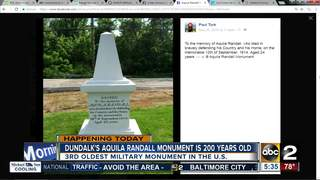 Monument in Dundalk turns 200 years old