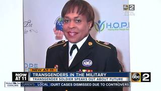 Transgender sergeant speaks out