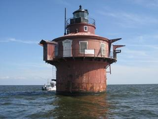 Lighthouse on Chesapeake Bay up for auction