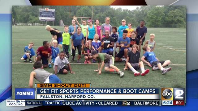 Get Fit Sports Performance -amp- Boot Camps say Good Morning Maryland