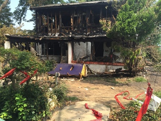 Family dog dies in fire Wednesday night