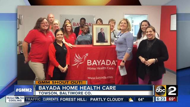 Bayada Home Health Care says good morning