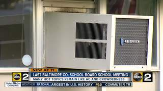 13 Balt Co Schools to start year without A/C
