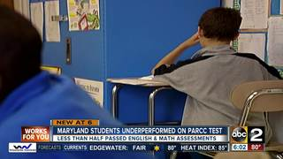 Majority of Md. students fail to pass PARCC exam