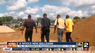 A whole new ballgame in West Baltimore