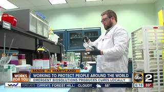 Emergent BioSolutions creates cures in Baltimore