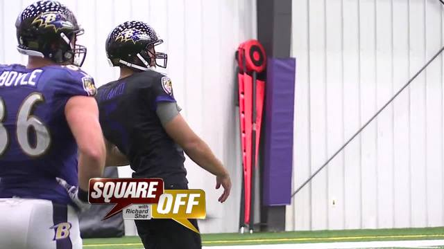 Square Off- Ravens kickoff for the first game of the season