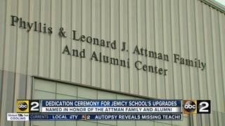 Jemicy School unveils new gym
