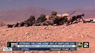 New veterans to be welcomed home at Maryland Zoo