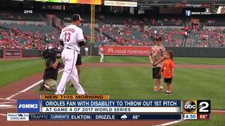 Orioles fan to throw first pitch at World Series
