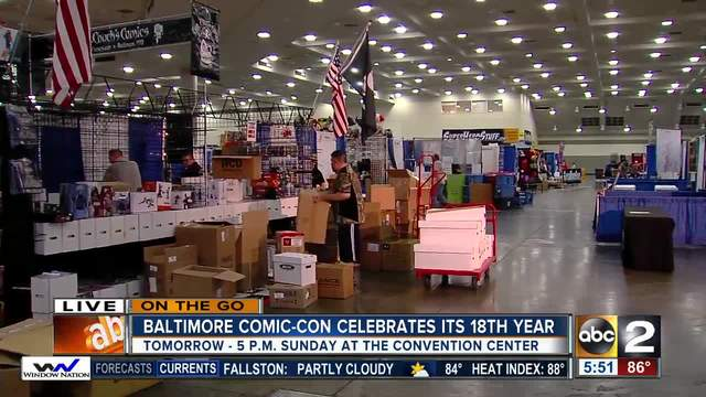 On the Go Baltimore Comic-Con3