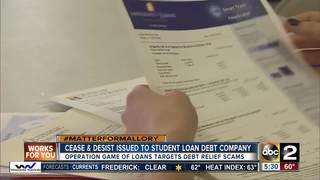 AG stifles Student Loan Debt Relief Company