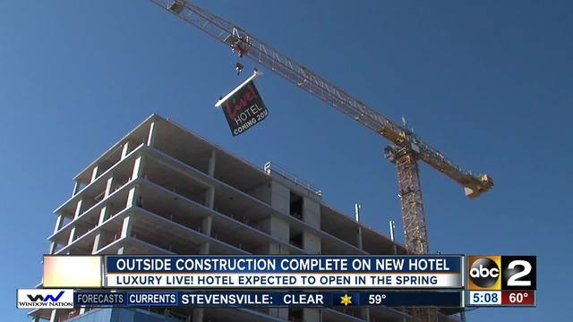 Maryland Live And Hotel Project To Be Complete In The Spring