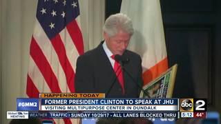 Bill Clinton talks opioid crisis in Baltimore