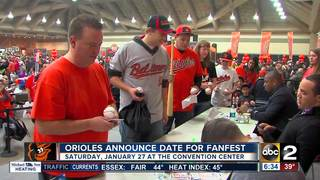 Orioles announce date for FanFest event
