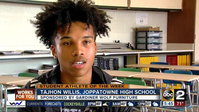 Student Athlete of the Week- Tajhon Willis