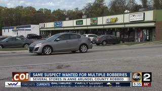 Police: Man arrested after string of robberies