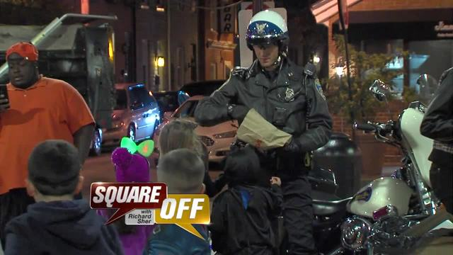 Square Off- Crime on Halloween