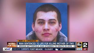 Man sentenced for killing mother of two